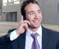 Happy businessman Stock Photography