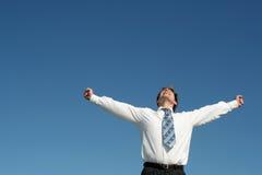 Happy Businessman Royalty Free Stock Photo