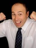 Happy Businessman Stock Images