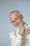 Happy businessman. Horizontal image of happy senior businessman Stock Photos