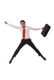 Happy businessman Stock Images
