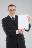 Happy businessman. Stock Images