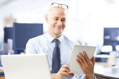 Happy businessman Royalty Free Stock Images