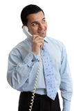 Happy Businessman looking up Stock Images