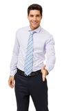 Happy Businessman Offering Handshake Stock Photography