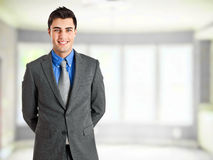 Happy businessman portrait Royalty Free Stock Photo