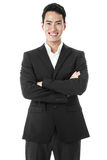 The happy businessman Royalty Free Stock Image