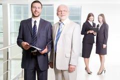 Happy businessmen Stock Photos