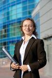 Happy Businesswoman. Royalty Free Stock Photo