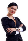 Happy businesswoman Stock Photography