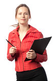 Happy Businesswoman Royalty Free Stock Photos