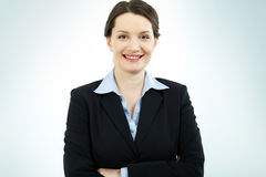 Happy businesswoman Royalty Free Stock Photos