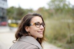 Happy businesswoman Stock Photography