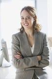 Happy Businesswoman Portrait Stock Photo