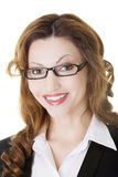 Happy businesswoman portrait Stock Images