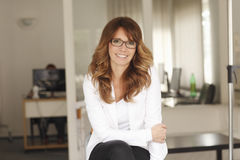 Happy  Businesswoman Stock Image