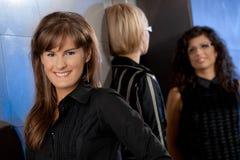 Happy businesswomen Stock Photo