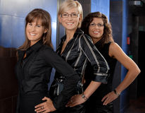 Happy businesswomen Stock Images