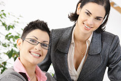 Happy businesswomen Royalty Free Stock Image
