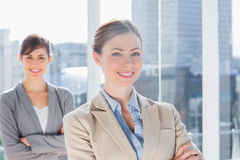 Happy businesswomen Stock Photo
