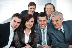 Happy Bussiness People Stock Images