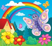 Free Happy Butterfly Topic Image 6 Stock Photos - 70286723