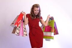 Happy buyer Stock Photography