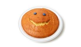 Happy cake Stock Image