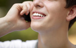 Happy call Stock Images