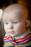 Happy Calm Baby Royalty Free Stock Photography