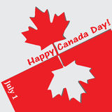 Happy Canada Day Royalty Free Stock Photo