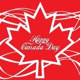 Happy Canada Day Royalty Free Stock Photography