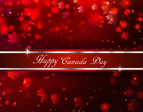 Happy Canada Day background Royalty Free Stock Photos