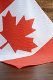 Happy Canada Day Canadian Flag Stock Photography
