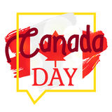 Happy Canada Day. Celebration Banner. 1st Jule Holiday. Vector Royalty Free Stock Photos