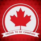 Happy Canada Day! Royalty Free Stock Image