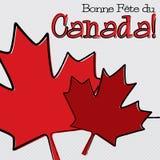 Happy Canada Day! Stock Photo
