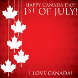 Happy Canada Day! Royalty Free Stock Images