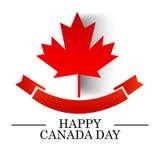 Happy Canada Day. stock illustration