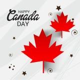 Happy Canada Day. royalty free illustration
