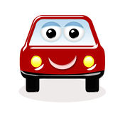 Happy car cartoon stock image