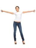 Happy and carefree teenage girl Stock Photo