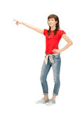 Happy and carefree teenage girl Stock Photography
