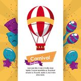 Happy carnival design. Icon vector illustration graphic Stock Photography