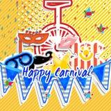 Happy carnival Stock Image