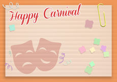 Happy Carnival Stock Photography