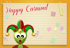 Happy Carnival Royalty Free Stock Photo