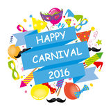 Happy Carnival Royalty Free Stock Images