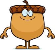 Happy Cartoon Acorn Stock Photos
