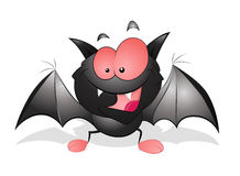 Happy Cartoon Bat Royalty Free Stock Photos